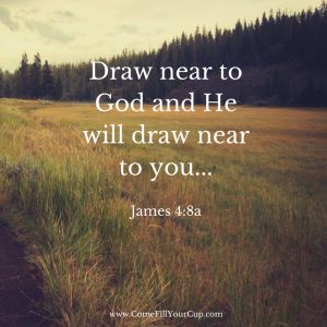 Draw near to God and He will draw near to you... More Purpose in Prayer by Jennifer Jensen