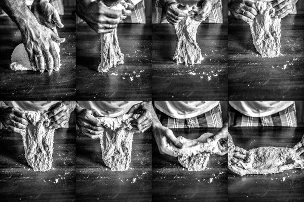 Προζύμι: Tεχνικές για ζύμωμα