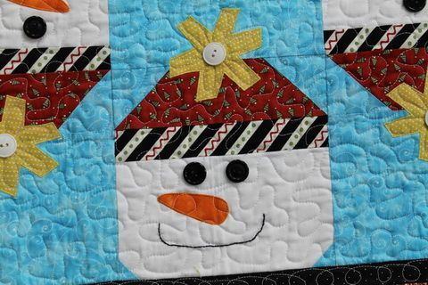 quilted+snowman | Cute quilted snowman | Christmas Decorations to Make