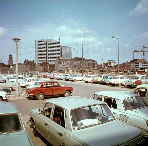 Fischerinsel, DDR Berlin 1969