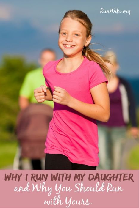 Why I run with my daughter. I love this. So many great life tips that kids can learn through running. Parenting tips | running motivation
