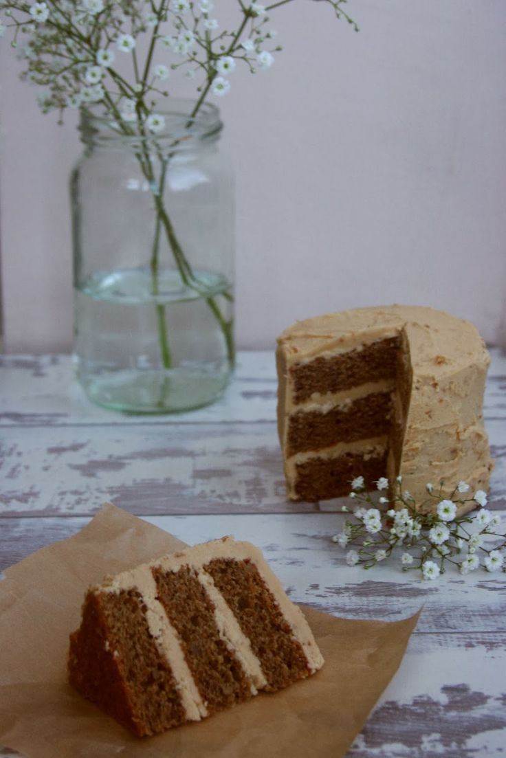 Little Rose Book: {Celebrating} Mini Walnut Cakes with Beurre Noisette & Espresso Buttercream