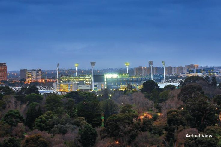 The MCG from St Kilda Road