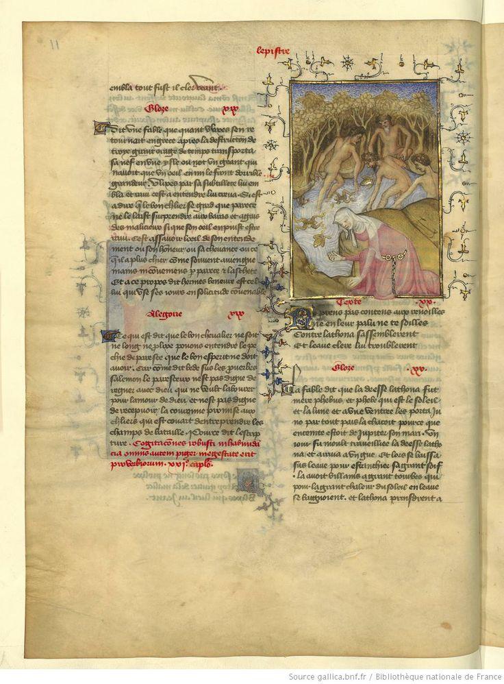 L'Epistre Othea à Hector, fol 11v