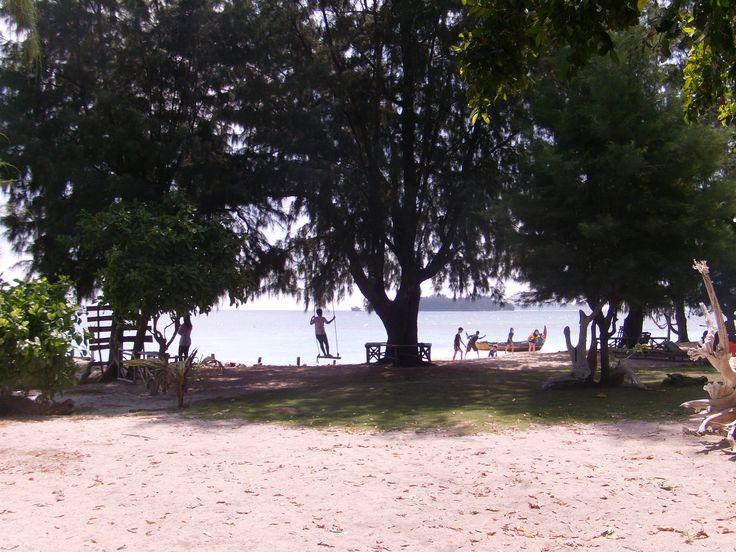 Cilik Island or Little Island, Karimunjawa, Central Java, Indonesia, is worth to visit !!