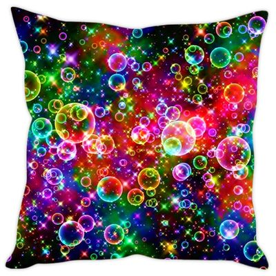 Sleep Nature's Bubbles Printed Cushion Covers Cushion Covers on Shimply.com