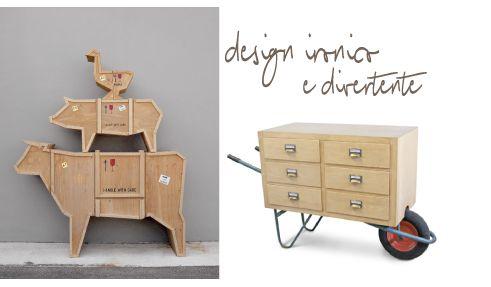 The ironical design, fun and useful furniture by Marama | My desired home
