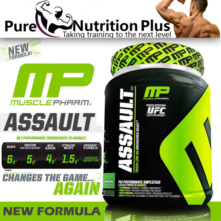 MUSCLE PHARM ASSAULT PRE WORKOUT SHAKE POWDER SUPPLEMENTFOR IMPROVED WORKOUT in Health & Beauty, Vitamins & Supplements, Sports Supplements | eBay
