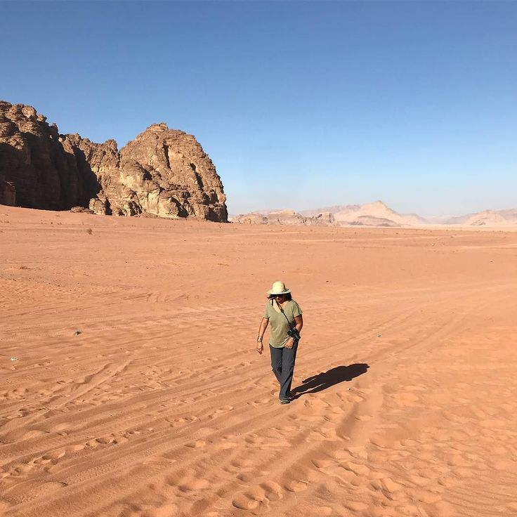 Just me exploring the vastness of #wadirum - can someone  point me to the oasis? #desertjourney #photooftheday @myjordanjourney @visitjordan
