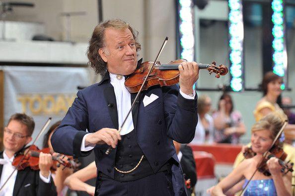 "Andre Rieu Photos - Andre Rieu & His Johann Strauss Orchestra Perform On NBC's ""Today"" - Zimbio"