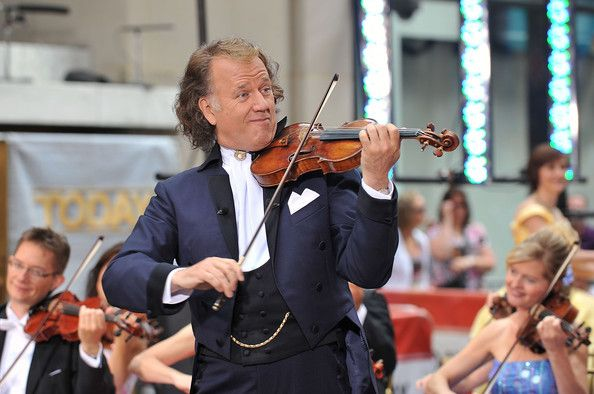 "Andre Rieu Photos - Andre Rieu & His Johann Strauss Orchestra Perform On NBC's ""Today"" - Zimbio"