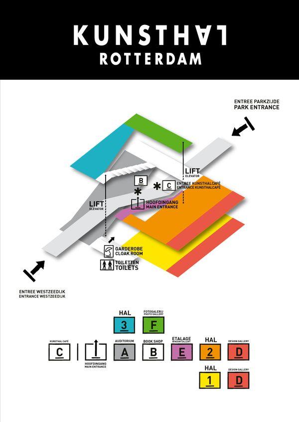 Kunsthal Rotterdam signage – Verena Tam