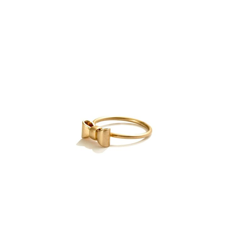 Madewell  mini-bow ring (6)