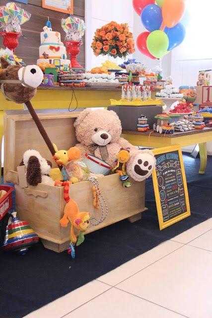 Encontrando Ideias: Festa Brinquedos!!