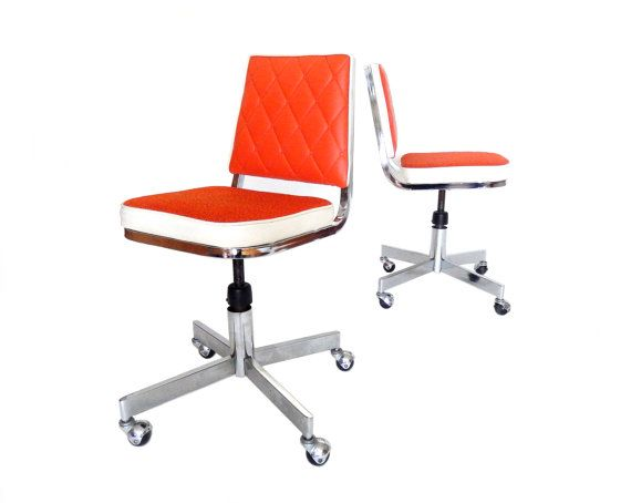 Mid Century Modern Office Chairs Desk Office by stonesoupology
