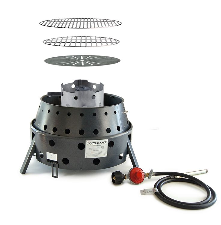 Volcano Grill/Stove - works with wood, charcoal, propane