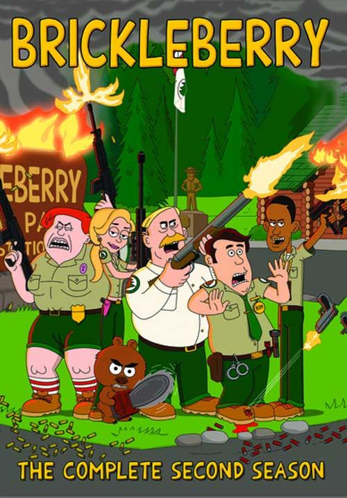 Brickleberry - 'The Complete 2nd Season' is Now on DVD ... | 500 x 717 jpeg 73kB