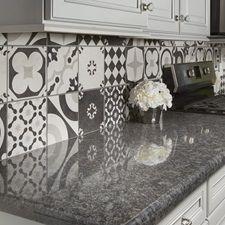 Cementine Black and White Porcelain Deco Tile | Arizona Tile