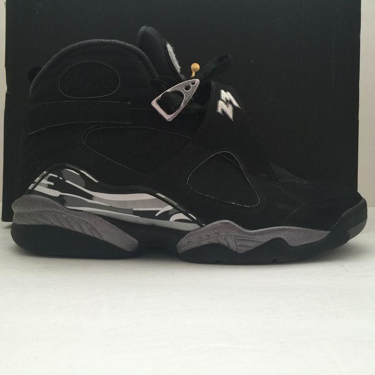 Nike Air Jordan 8 VIII Retro Chrome Size 10