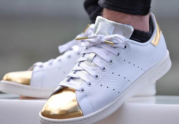 Gold Toe adidas Stan Smiths Are Releasing Soon Adidas Stan  Adidas stan