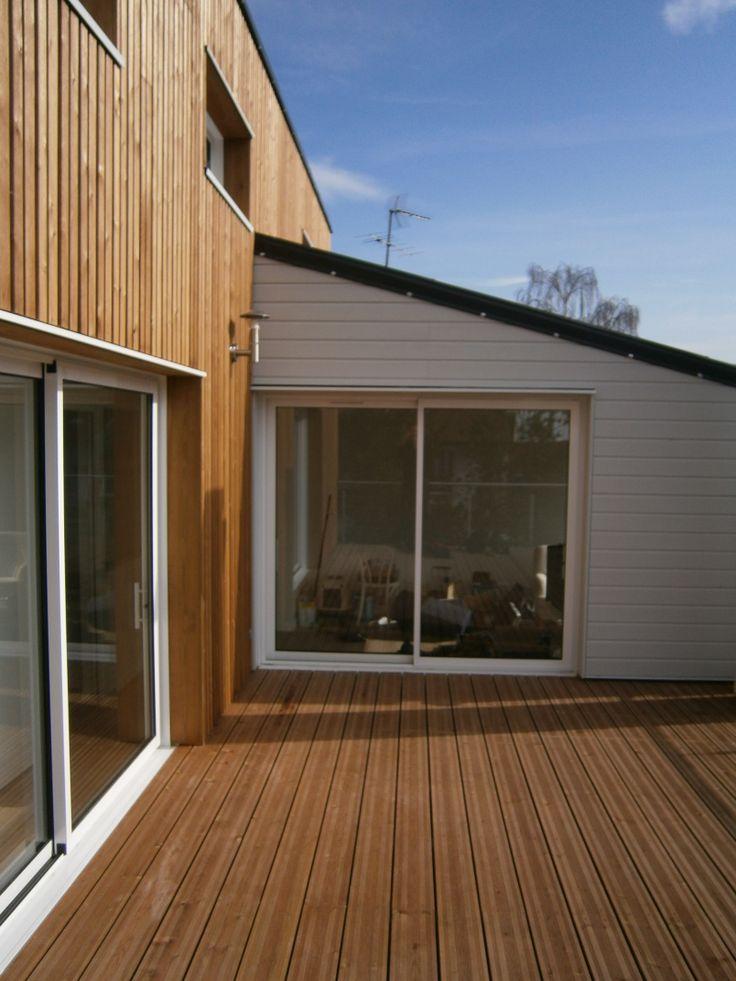 10 best Architecture - surélévation en bois - Rueil - M2 et