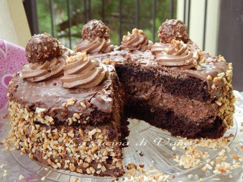torta rocher torta golosa