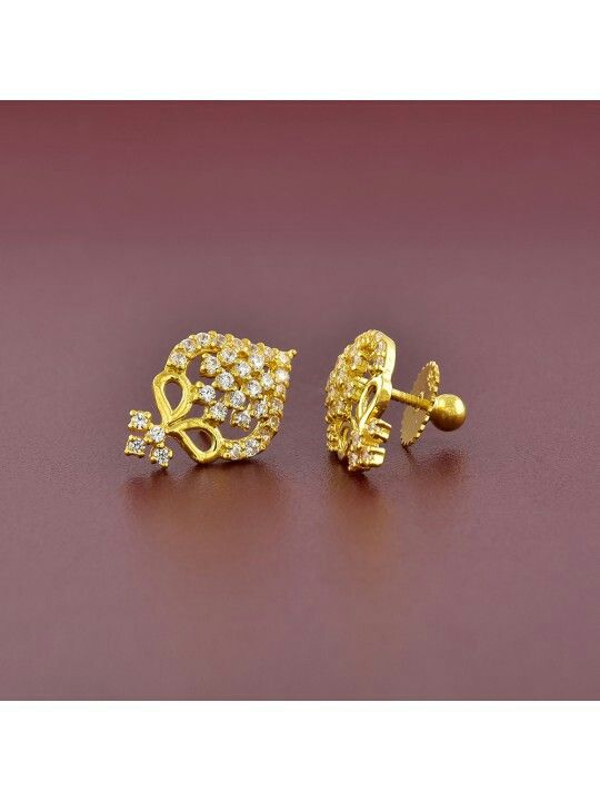 69205e702 For daily wear Diamond Studs, Diamond Jewelry, Diamond Earrings, Gold  Jewelry, Gold