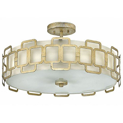 LIKES ORDER 2 Sabina Semi-Flushmount/Pendant by Hinkley Lighting at Lumens.com 22.5d x 8h