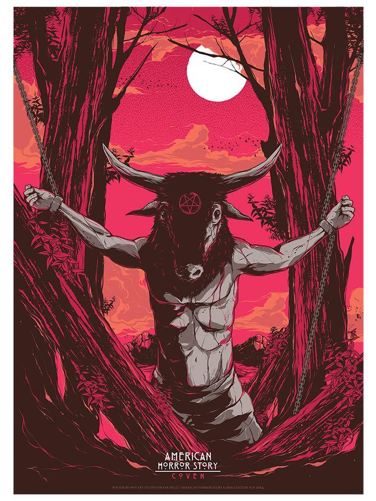 "American Horror Story - Coven  - Wes Art Studio ---- ""American Horror Story"" art show at Hero Complex Gallery (2015-10) #AHS"