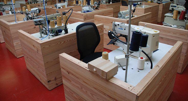 Hiut Denim Factory_Sewing Station