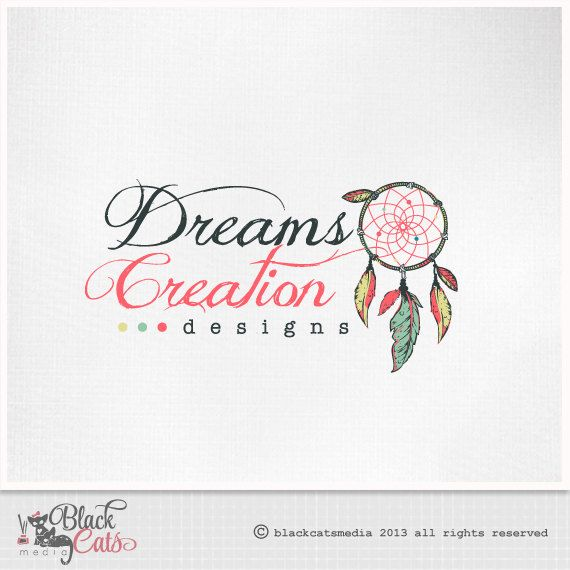 Adore the dream catcher! I wish that went with my name! haha... but I also love the colors and font!