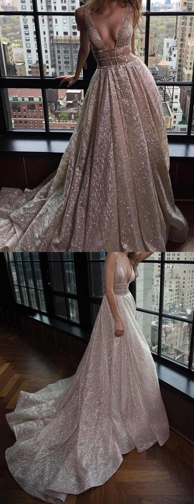cut out dresses,2017 prom dresses,sexy prom dresses,deep v-neck dresses,luxury prom dresses