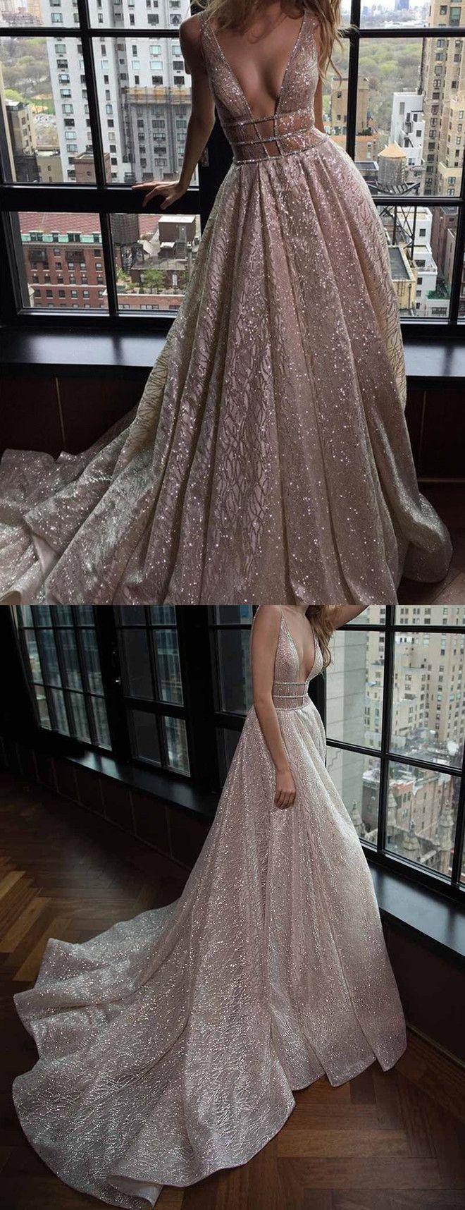 cut out dresses,2017 prom dresses,sexy prom dresses,deep v-neck dresses,luxury prom dresses