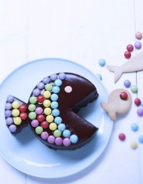 Paques - gâteau poisson au chocolat - Gourmand