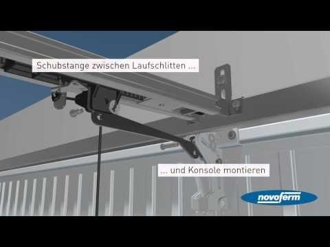 Montage des Novoferm Schwingtor-System - Garagentore von Novoferm