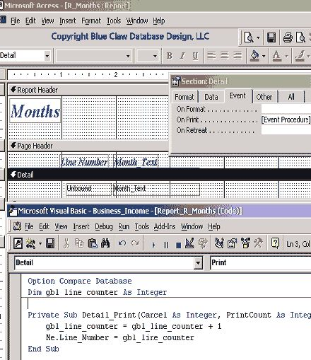 187 best Microsoft Access Programming Tutorials \ Example - format purchase order