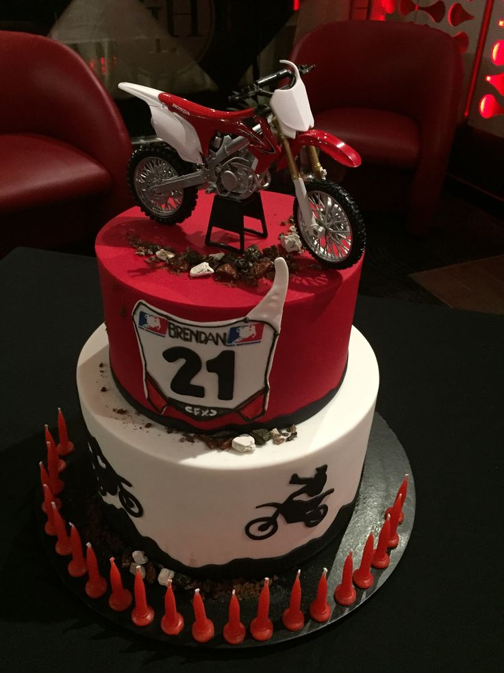 Motorcross Birthday Cake #fairynuffcakes