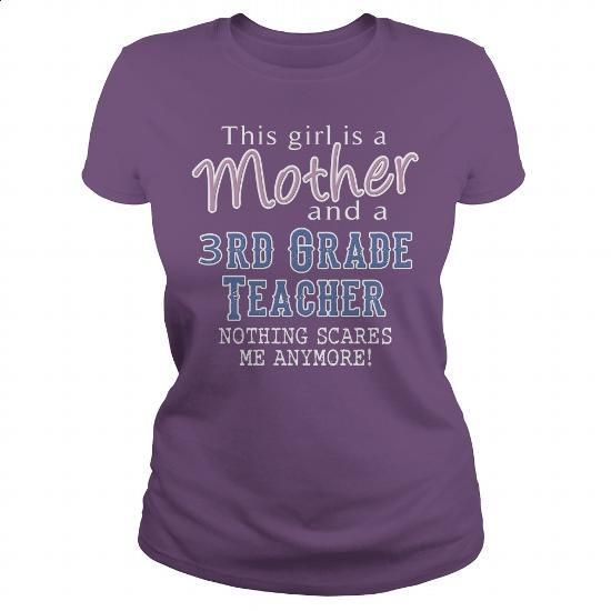 Awesome Tee For 3rd Grade Teacher - #sleeve #fishing t shirts. BUY NOW => https://www.sunfrog.com/LifeStyle/Awesome-Tee-For-3rd-Grade-Teacher-102394276-Purple-Ladies.html?60505