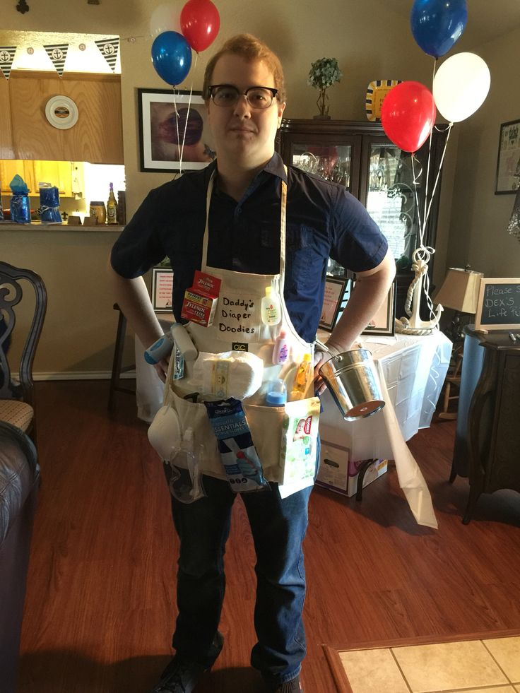 Daddies diaper doody for co ed baby shower Baby shower