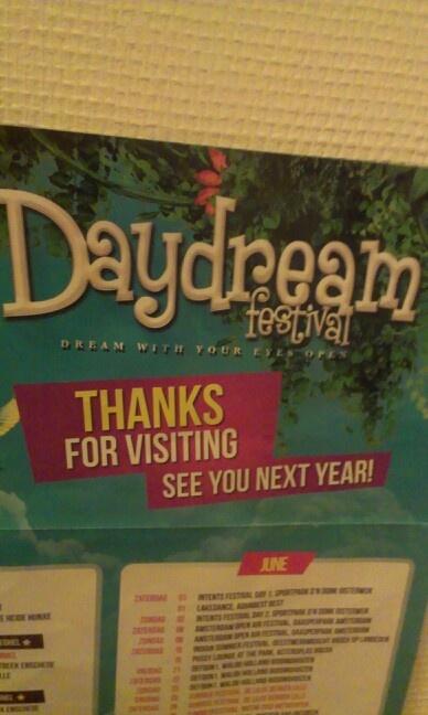 Poster van een festival