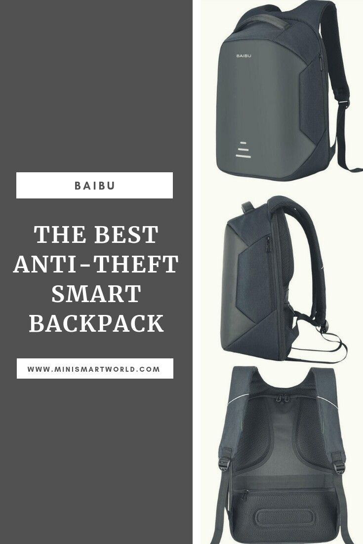 12205de009a This adorable smart backpack is one the best bags in 2018! Made of high  quality material and provides a large capacity.