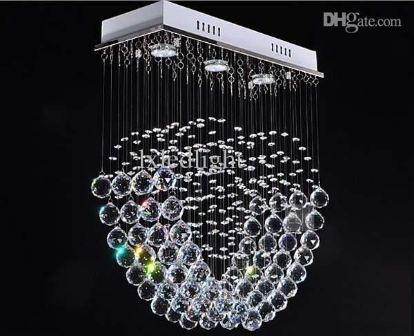 Free shipping 219 65 piecebuy wholesale modern crystal chandelier ceiling light pendant lamp