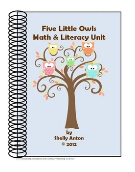 This unit contains over 50 worksheets for a thematic unit on owls. The unit focuses on math and literacy activities. The owls are so adorable and will be highly motivating for your students!