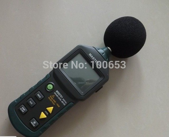 Digital Sound Level Meter  MS6701 with 16000 records Memory noise meter