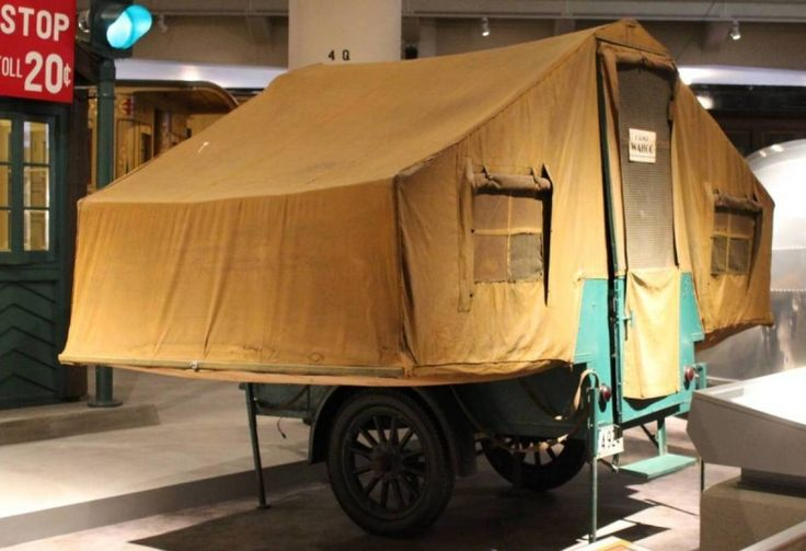 1927 Gilkie Tent Trailer   Canned Hams and Such ...