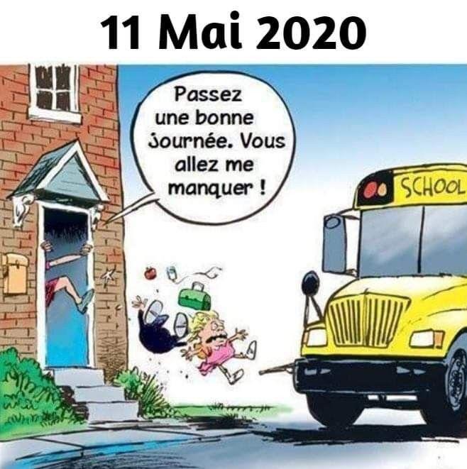 HUMOUR : Les incertitudes du déconfinement et de la rentrée scolaire des enfants le 11 mai 2020 ? (Images) 30e740a89f8ddfb041a3e4284050dc5d