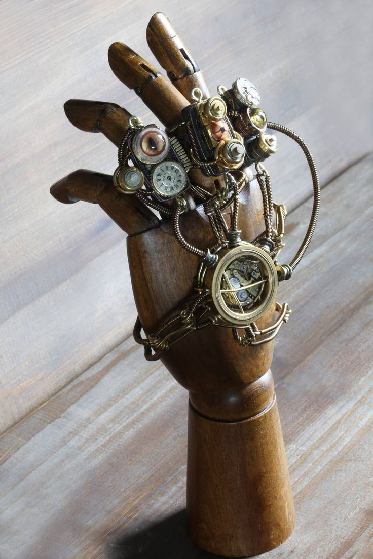 Steampunk hand   Steampunk Accessoires in 2019   Steampunk ...