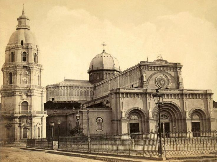 Manila Cathedral before 1880 earthquake from http://en.wikipedia.org/wiki/File:Manila_Cathedral_before_the_1880_earthquake.jpg