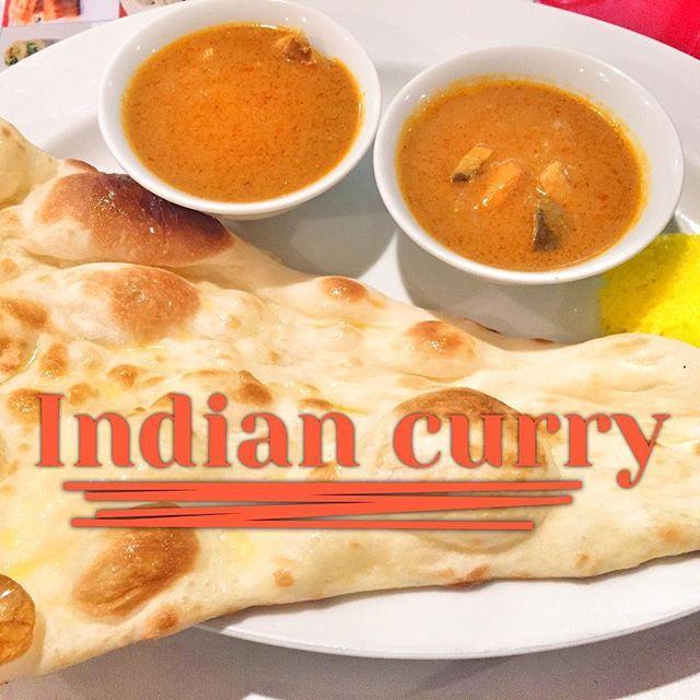 インドカレーとナン🍛 ナンおかわり自由はやっぱりいい‼️笑  #indiancurry #curry #インドカレー #カレー #ナン #おかわり自由 #美味い #インド #土曜日 #チキン #キーマカレー #サラダ #タンドリーチキン #chicken #料理 #cooking #満腹 #肉 #ラッシー #ライス