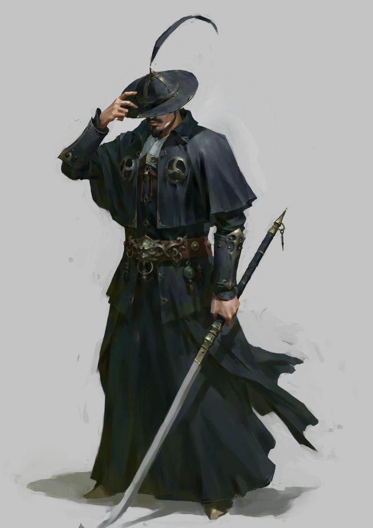Agente ronin Custo exorcista cazador